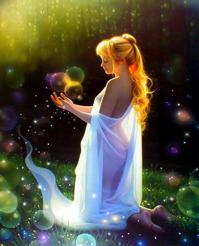 Лунная магия - это использование силы Луны и силы человека