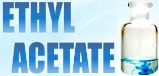 ETHYLACETATE (Этилацетат) - бесцветная летучая жидкость с несколько сладковатым запахом, напоминающим ацетон, однако менее едким.