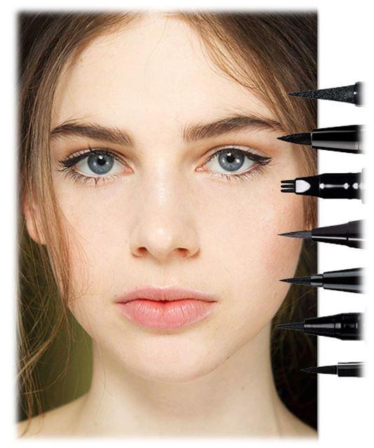 Стрелки – это элемент, который сложно переоценить, поскольку ни один привлекательный вечерний макияж не может обойтись без него