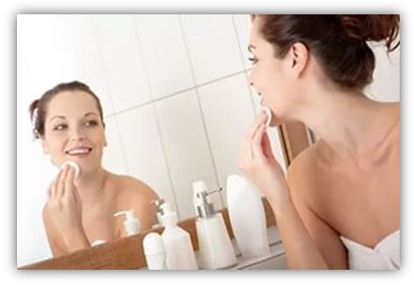 чищающее молочко относится к эмульсиям прямого типа – «масло в воде»