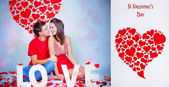 День Влюбленных (14 февраля)! В этот день все влюбленные пары дарят друг другу трогательные подарки и говорят слова любви