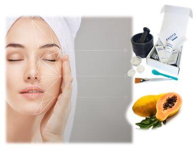 Система ухода за кожей ФРУТ-ЭНЗИМ предназначена для очищения, увлажнения, осветления и выравнивания поверхности кожи