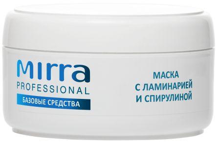 Маска с ламинарией и спирулиной 4029 MIRRA PROFESSIONAL - Линия профессиональной косметики