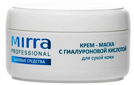 Крем-маска с гиалуроновой кислотой для сухой кожи 4031 MIRRA PROFESSIONAL - Линия профессиональной косметики