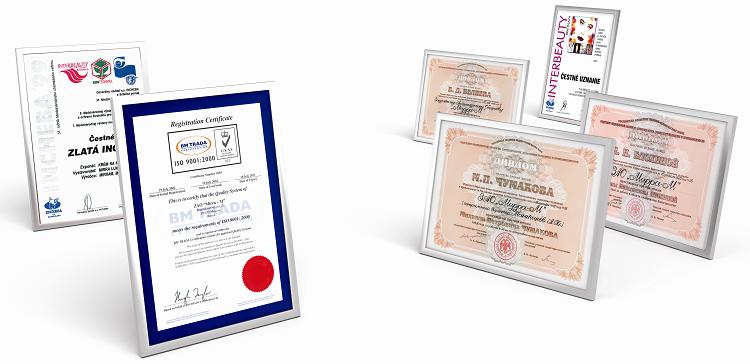 Награды, достижения, дипломы компании МИРРА