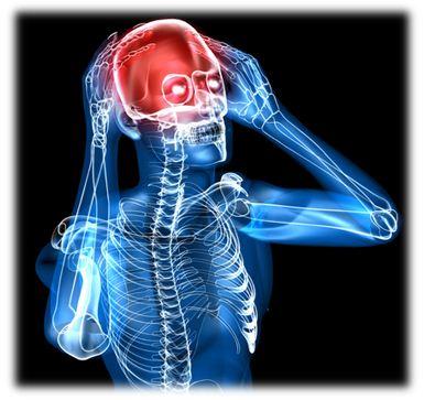 Головная боль образуется вследствие нарушения внутричерепного кровообращения, повышенного артериального давления, усталости, ибо недомогании, а также множестве других причин, которые способствуют головной боли и мигрени.