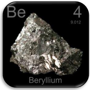 Бериллий является высокотоксичным, чрезвычайно прочным, эластичным и легким немагнитным веществом с электропроводными свойствами