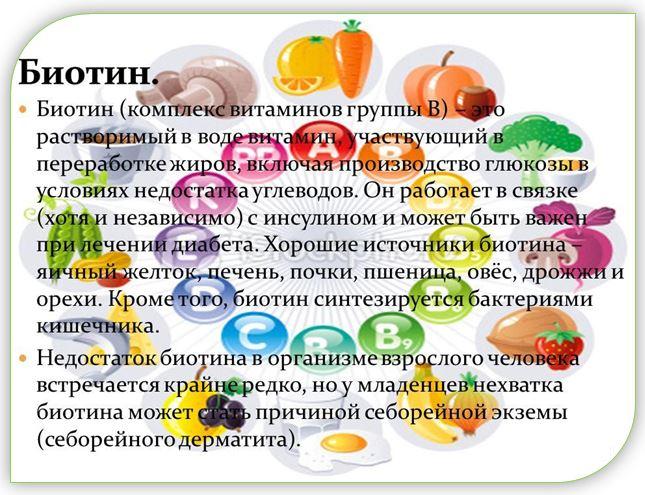 Биотин (витамин В7) или как его ещё называют «витамин красоты» поможет Вам добиться красивых, здоровых и длинных волос