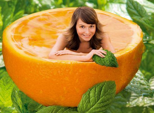 Косметика на основе апельсинового масла