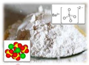 Бария сульфат применяют внутрь в виде суспензии в воде как контрастное средство при рентгенологическом исследовании пищевода, желудка и кишечника