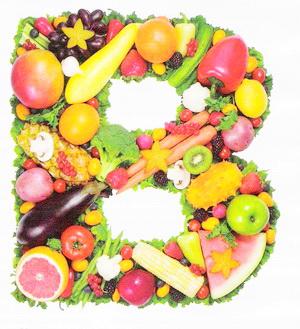 Витамины группы В – виды витаминов B