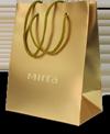 Пакет золотой МИРРА