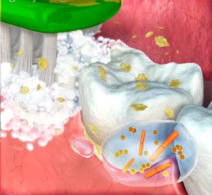 Антимикробный эффект пасты