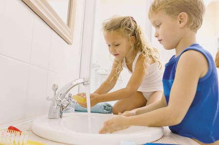 Мытье рук и умывание