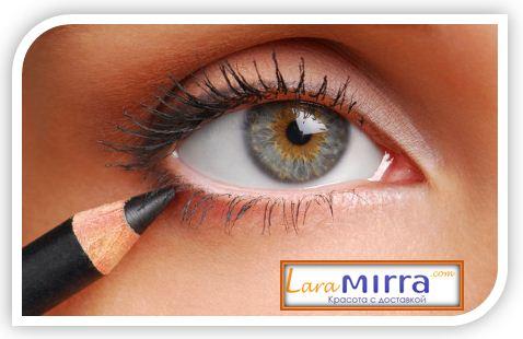 Как правильно и грамотно наносить косметический карандаш для глаз?