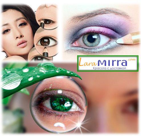 Макияж увеличивающий глаза: контур глаз. Самый главный инструмент, позволяющий нарисовать макияж увеличивающий глаза – это контурный карандаш