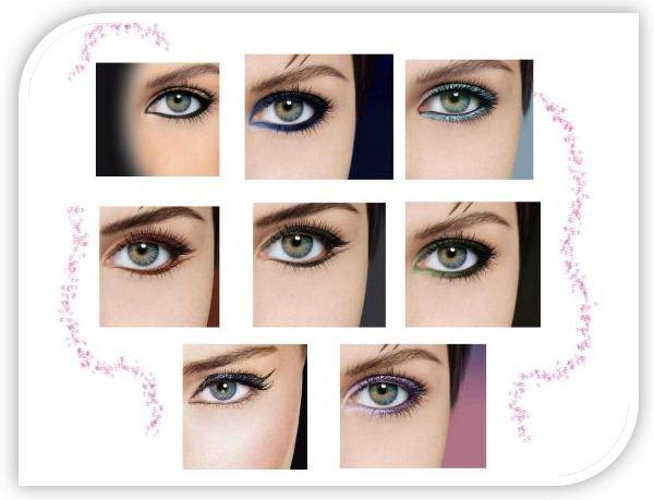 Тонкие, широкие, по длине глаз и устремленные к вискам стрелки придают глазам женщины загадочность и неповторимый шарм