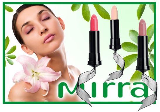 MIRRA представляет эксклюзивный продукт 2 в 1 – идеальный цвет и интенсивный уход! BB-бальзам – новое слово в уходе за кожей губ
