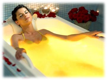 успакаивающие ванны-ароматерапия-эфирные масла